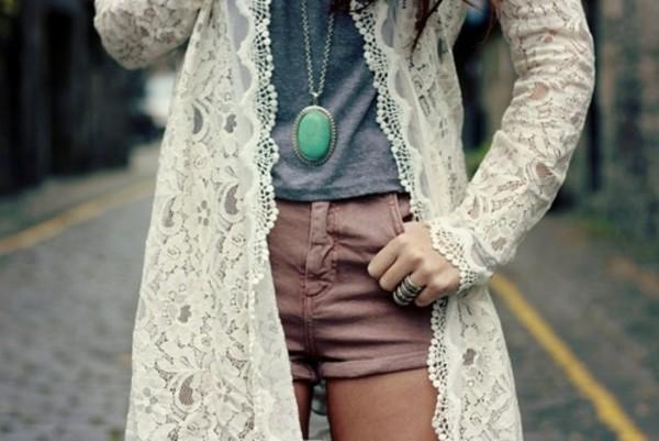 YESSTYLE: Tokyo Fashion- Set: Sleeveless Chiffon Tunic Lace ...