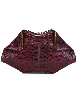 women clutch purple pink bag