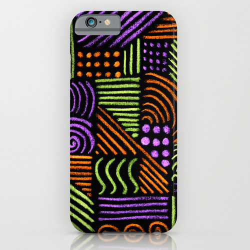 Strange thoughts 2 iPhone & iPod Case by AhaC