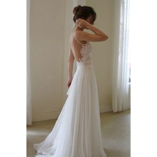 Wanda Borges Wedding Dresses Open Back or Backless Gowns - Polyvore