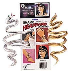 Amazon.com: Cleopatra Egyptian Snake (Gold) Bracelet/Armband Accessory: Jewelry