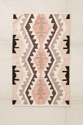 home accessory,carpet,rug,aztec,peach,tribal pattern