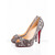 Nude Black Christian Louboutin Very Prive 120mm Pumps Red Sole Shoes