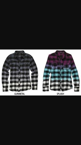 shirt flannel shirt splash