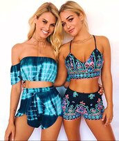 romper,floral,embroidered,print,printed romper,floral romper,floral jumpsuit,two-piece,two piece romper,crop tops,floral crop top,blue,blue romper,hot shorts,bodycon,deep v,plunge neckline,plunge jumpsuit,plunge romper,tight,aztec,aztec shorts,beach,women beachwear,preppy,pretty,cool,hot,flowered shorts,2 piece romper,cute,cute dress,fashion,fashioista,holiday romper,summer vacation,street,urban,lookbook,tie dye,blue jumpsuit,moraki,plunge v neck,summer,summer outfits,summer accessories,summer holidays,women,2 piece skirt set,holiday season,holiday dress,vacation outfits,streetstyle,streetwear