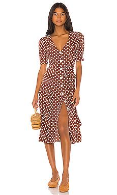 LPA Bambina Dress in Anette Dot from Revolve.com