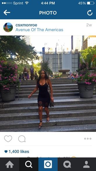 dress bodycon dress black dress lace short tight dress black tight dress