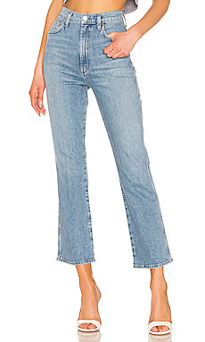 AGOLDE Pinch Waist Kick in Divide from Revolve.com