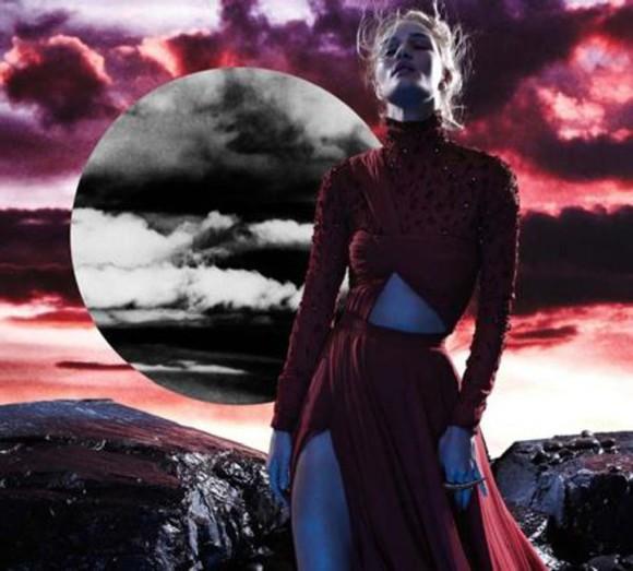 rosie huntington-whiteley dress top red dress