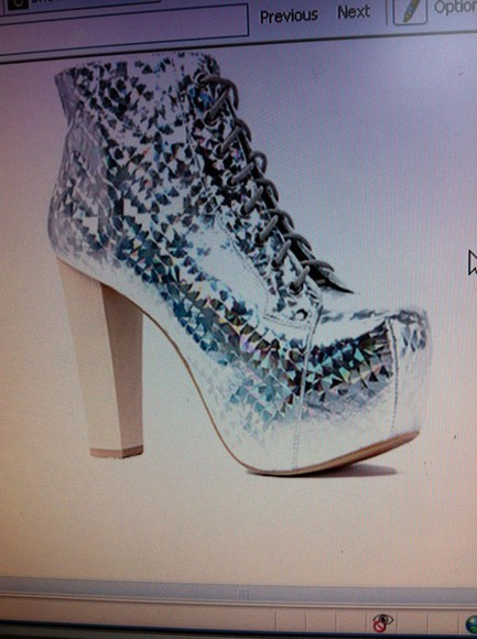 shoes shiny shoes shiny silver high heels silver glitter platform shoes sparkles