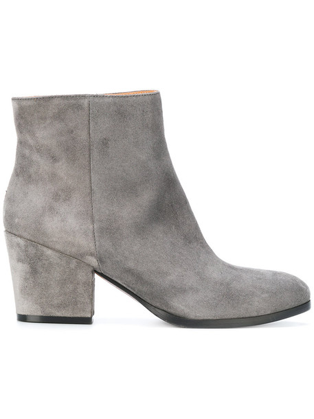 Buttero women new leather suede grey shoes