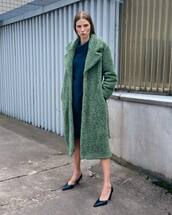 coat,green coat