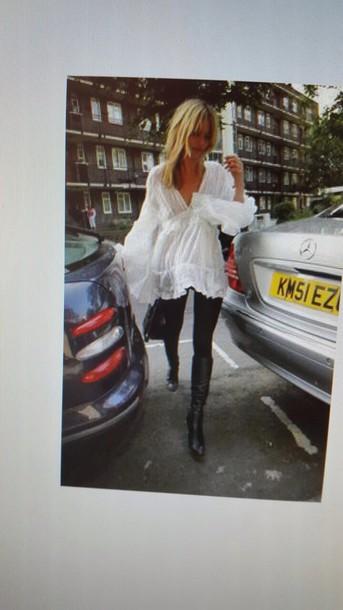 blouse white lace blouse