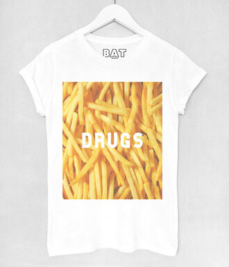 t-shirt clothes girl hipster fries junk food batoko www.batoko.com fast fashion hipsterista fashionista blogger