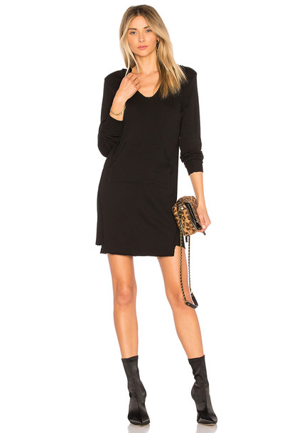Lanston dress hoodie dress black