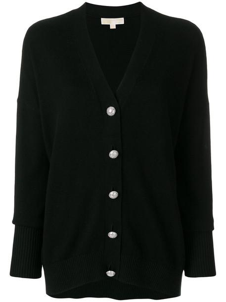 cardigan cardigan women embellished cotton black sweater