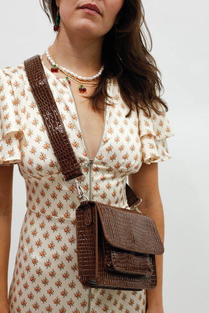 Cayman Pocket Bag - Brown
