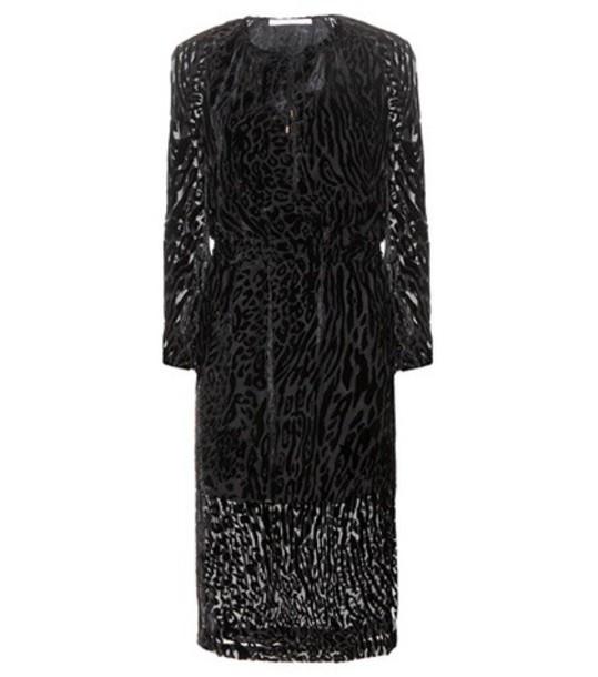 Altuzarra dress velvet dress velvet black