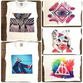shirt,muscle tee,zebra,white,black,artsy,colorful