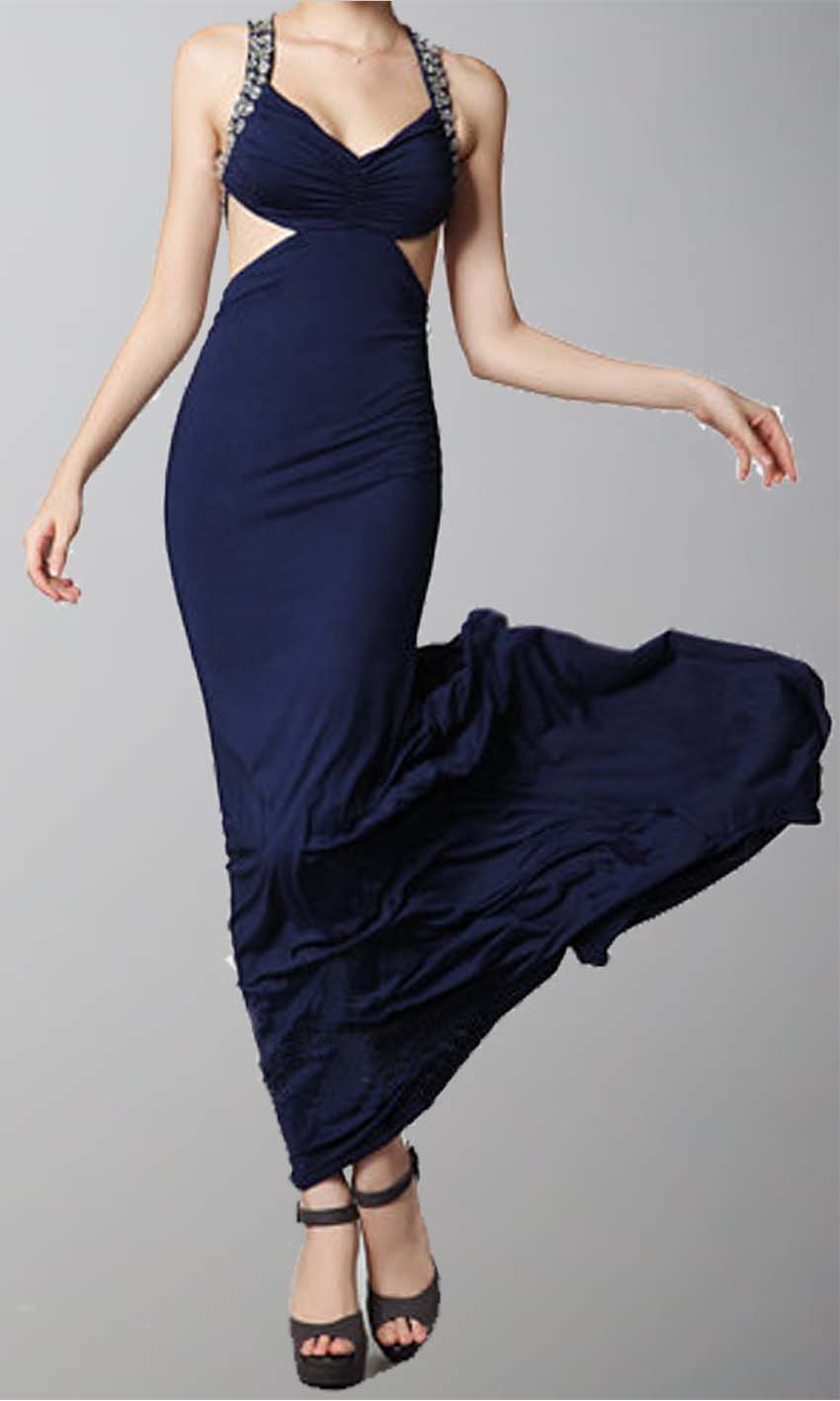 Navy Blue Cut Out Sheath Pleated Train Prom Dresses KSP292 [KSP292] - £99.00 : Cheap Prom Dresses Uk, Bridesmaid Dresses, 2014 Prom & Evening Dresses, Look for cheap elegant prom dresses 2014, cocktail gowns, or dresses for special occasions? kissprom.co.uk offers various bridesmaid dresses, evening dress, free shipping to UK etc.