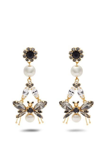 Erdem embellished earrings jewels