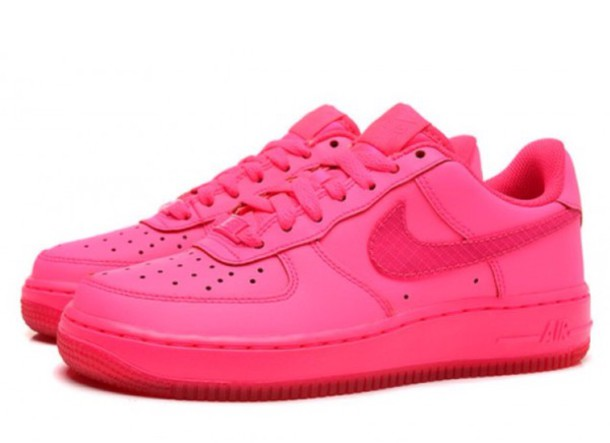 shoes, hyper pink, nike shoes, nike air