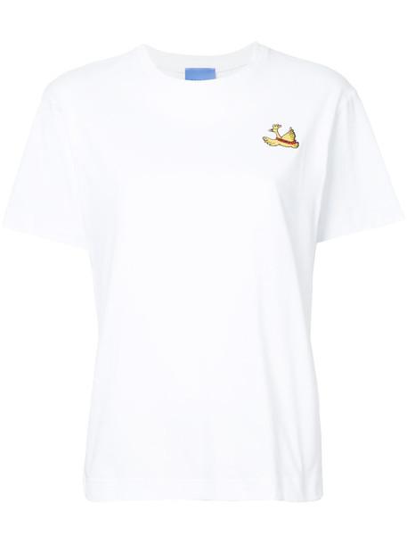macgraw t-shirt shirt t-shirt women white cotton top