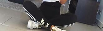leggings adidas black leggings tights