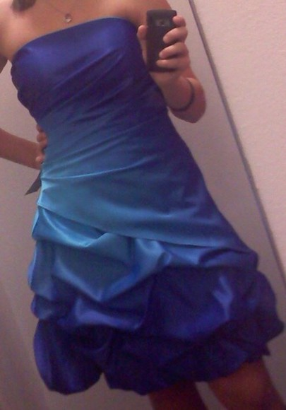 dress blue dress short prom dress