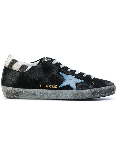 GOLDEN GOOSE DELUXE BRAND women sneakers leather suede black shoes