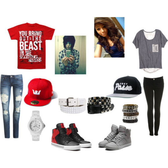 swag boys shirt outfits girls shoes jeans t-shirt hat