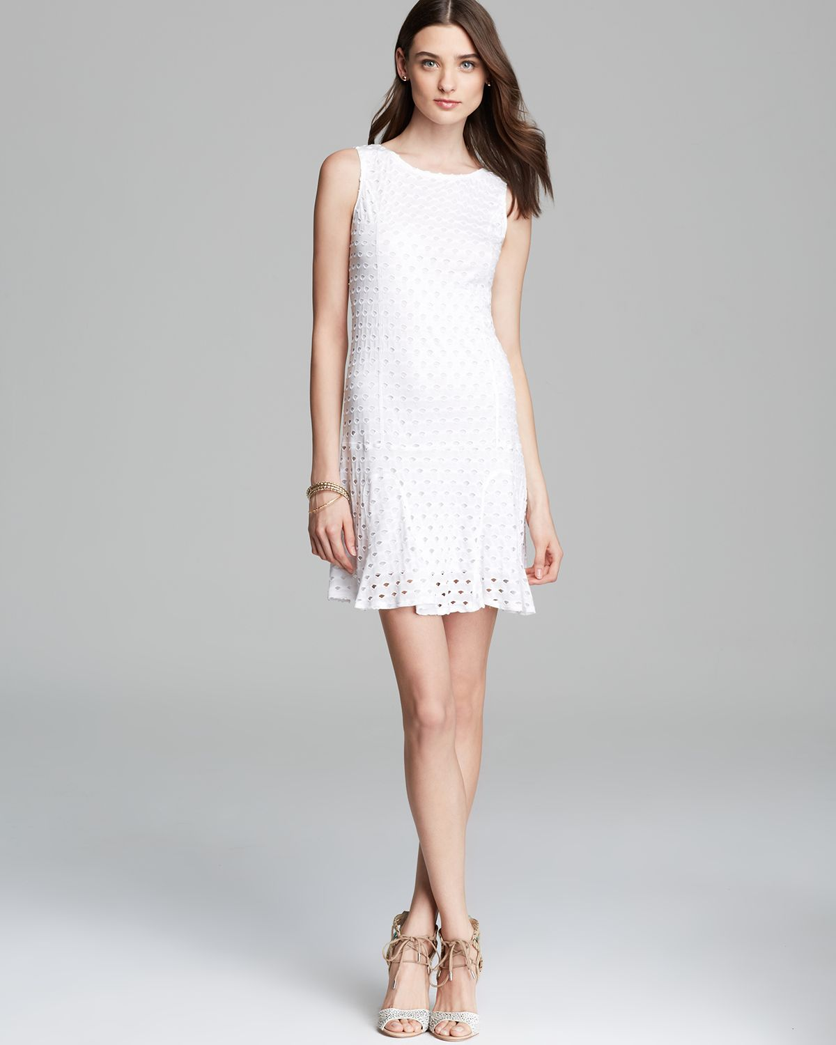 twenty tees Dress - Perforated | Bloomingdale's