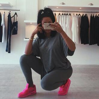 shirt jogging pants grey shirt