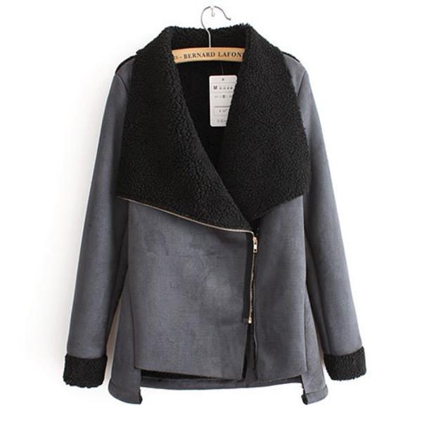 coat lapel zip