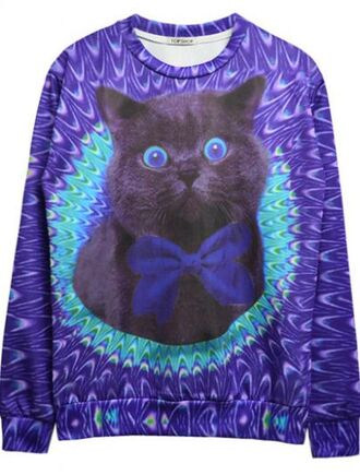 sweater cats hipster galaxy sweatshirt jumper