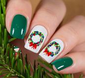 nail polish,holiday nail art,christmas,christmas nail art,holidays nail art,holiday season,nail accessories,nails,nail art