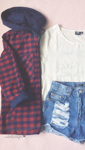 blouse flannel shirt