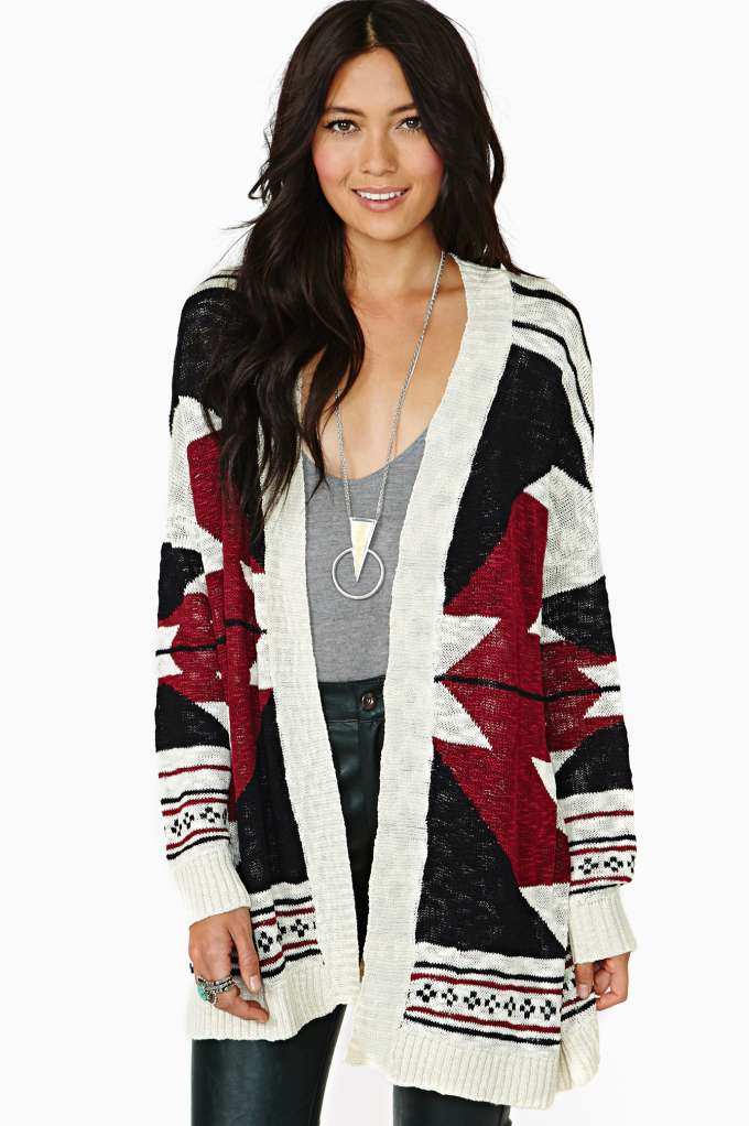 Hot Stone Cardi in  Clothes Sweaters at Nasty Gal