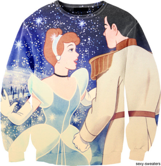 sweater clothes cinderella disney fashion clothing