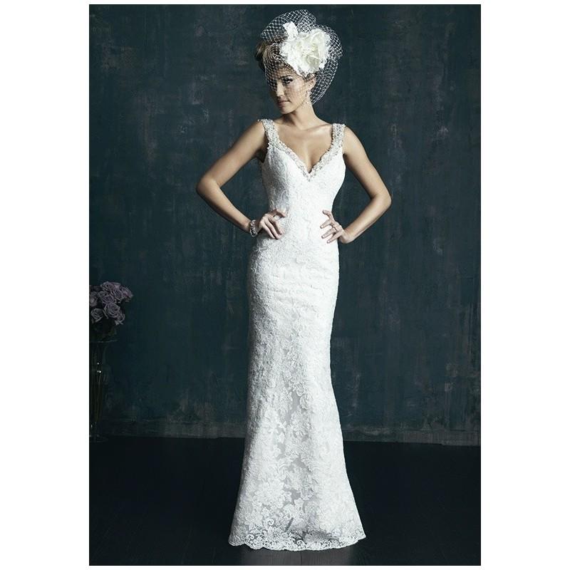 Allure Couture C261 - Charming Custom-made Dresses|Princess Wedding Dresses|Discount Wedding Dresses online