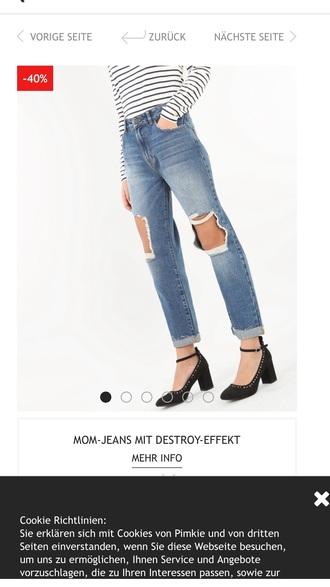 jeans mom jeans pimkie