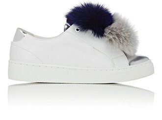 shoes white sneakers statement shoes furry sneakers