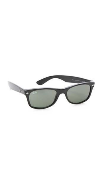 Ray-Ban New Wayfarer Sunglasses - Black