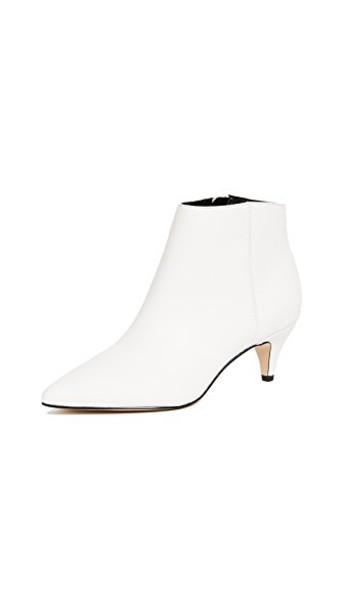 Sam Edelman booties white bright shoes