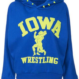 blue hoodie iowa hoodie