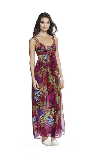 dress agua bendita print bikiniluxe