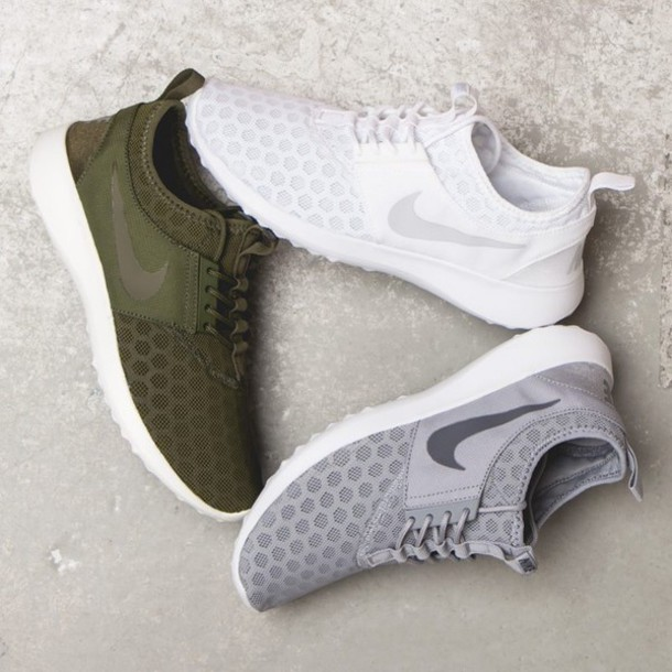 separation shoes 308c3 00684 shoes nike nike running shoes nike roshe run olive green nike shoes grey green  white roshe
