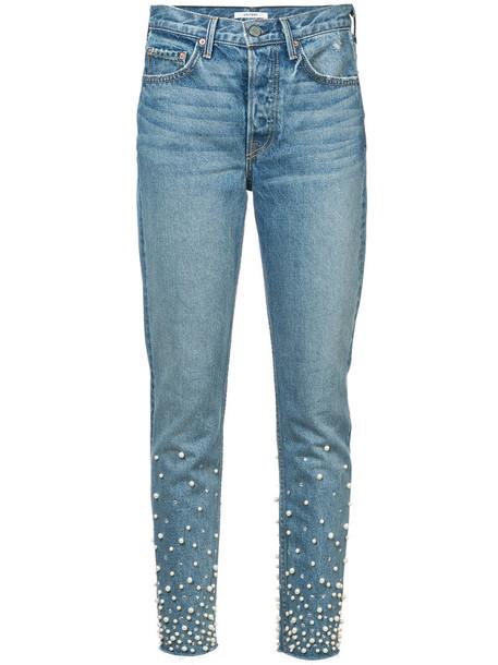 GRLFRND jeans women pearl fit cotton