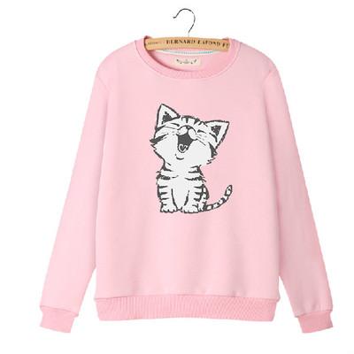 017c5c25a Japanese cartoon cat cute sweater coat · Women Fashion {Europe ...