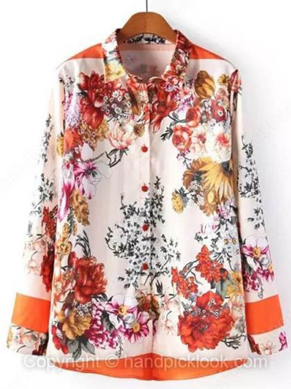 blouse floral top floral